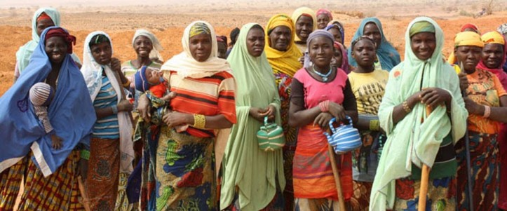 Women participating in food-for-work activities in Tillaberi, Niger. Credit USAIDx